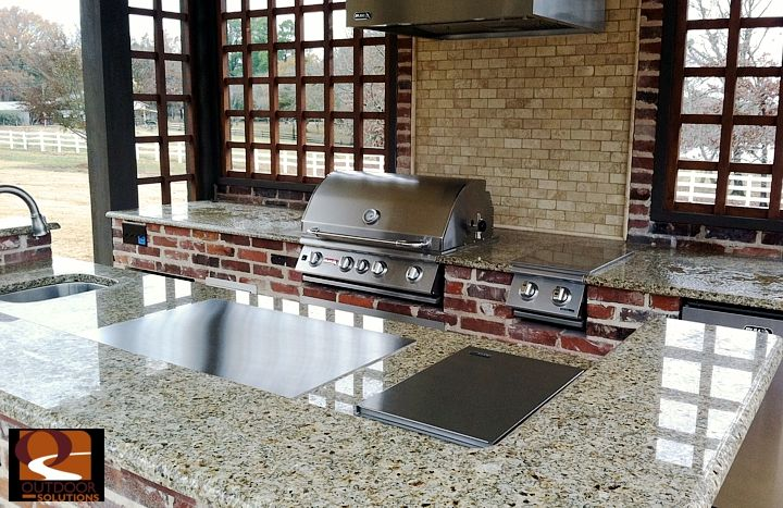 OUTDOOR KITCHEN TEPPANYAKI GRILL | ELECTRIC BUILT IN TEPAN YAKI GRIDDLE | HIBACHI PLANCHA