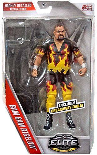 WWE Elite Collection Then Now Forever Bam Bam Bigelow Action Figure -- Read more reviews of the product by visiting the link on the image.