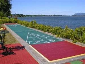 outdoor shuffleboard