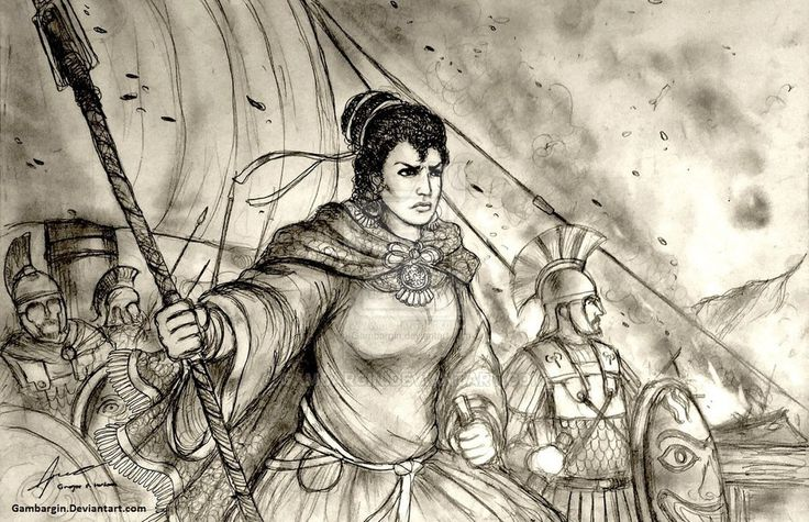 Artemisia I of Caria, 480 BC - Women War Queens by Gambargin on DeviantArt