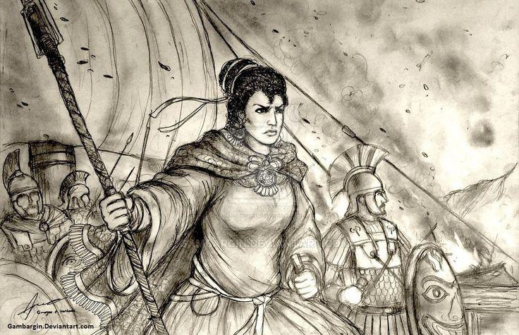 http://gambargin.deviantart.com/art/Artemisia-I-of-Caria-480-BC-Women-War-Queens-460657074