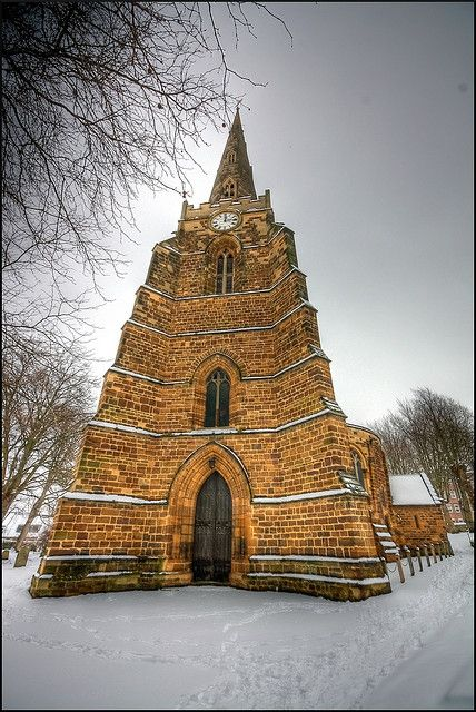 Church of the Holy Sepulchre, Northampton, England by Rich Lewis