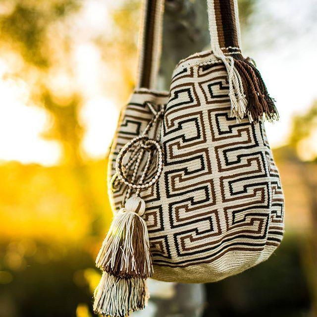 We have Fall colors of our latest #wayuumochila bags. Click in bio.   . .  @vanartistmedia . . . #guacamayagirl #guacamayatribal #bohobags #boholook #wayuustyle #wayuuchick