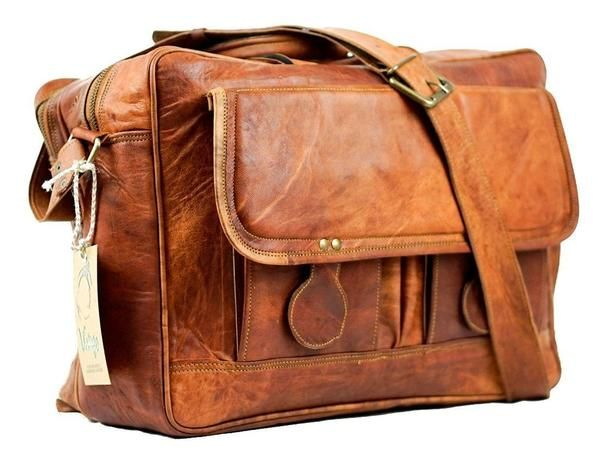 Vintage Leather Melbourne Satchel - Vintage Leather