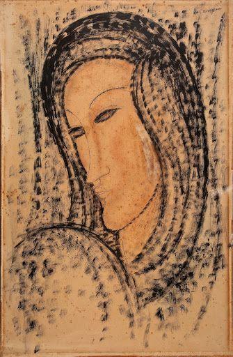 Portrait of a Young Widow - Amedeo Modigliani — Google Arts & Culture