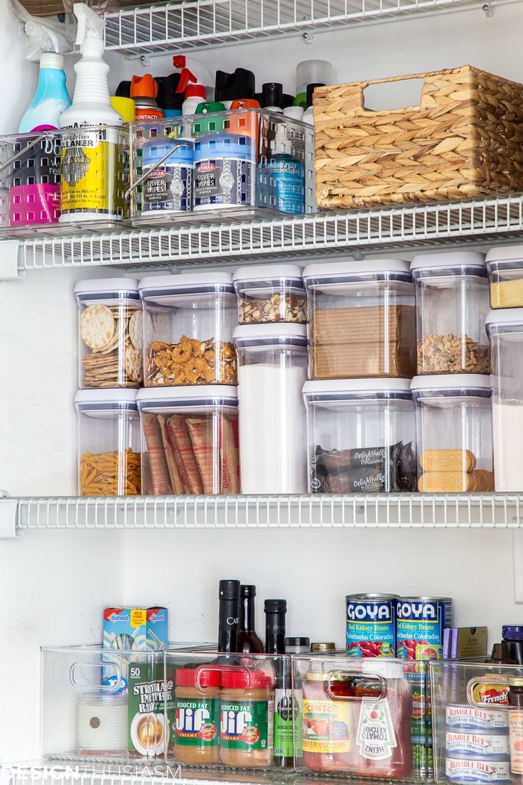 Kitchen Pantry Organization Ideas Simple And Easy To Maintain In