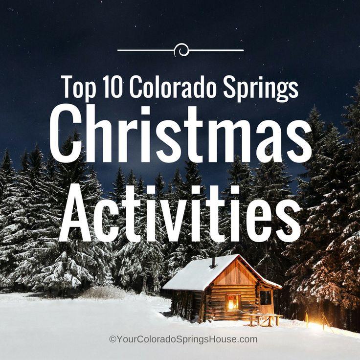 Top 10 Colorado Springs Christmas Activities