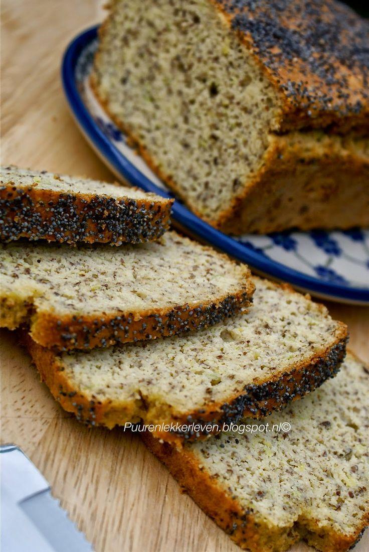 Puur & Lekker leven volgens Mandy: Glutenvrij, hartig brood