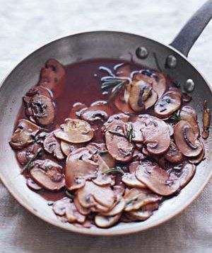 Mushroom-Red Wine Sauce for dressing the salads or anything you like.