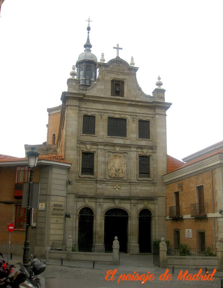 El paisaje de Madrid: El desaparecido Convento del Sacramento-Iglesia http://elpaisajedemadrid.blogspot.com.es/2014/03/el-desaparecido-convento-del-sacramento.html