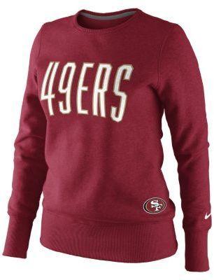 Nike Tailgater Fleece NFL San Francisco 49ers Women's Sweatshirt