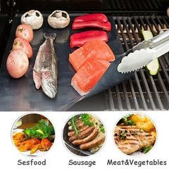 $15 for 2-Pack of BBQ Grill Mats | DrGrab