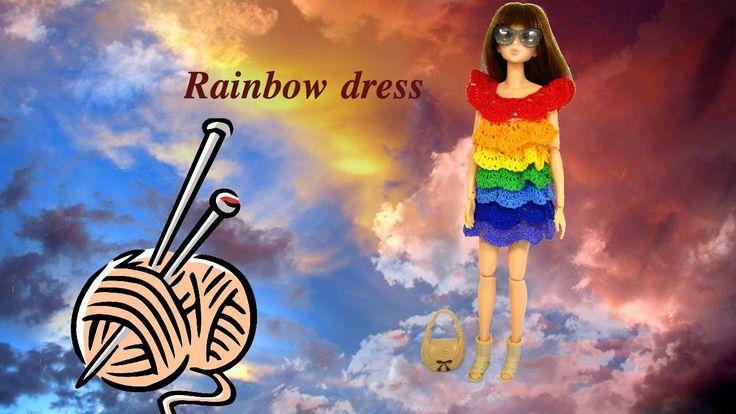 Momoko rainbow dress