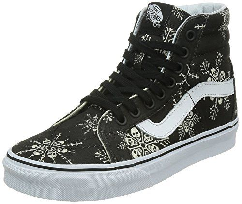 Vans Unisex SK8Hi Reissue Van Doren Skate ShoesSkull SnowflakeBlack135Women12Men ** Be sure to check out this awesome product.