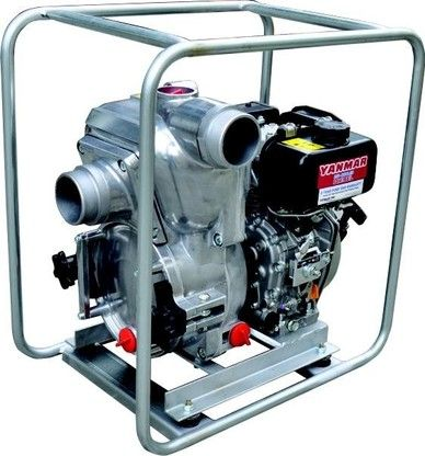 10 Hp Yanmar Diesel Trash Pump (24m, 1,800 L/Min) (Electric Start). IDEAL FOR: Clean / dirty water, construction site dewatering, waste water handling, effluent pump out, livestock waste water disposal, solid laden mine waste pump out. $9,562 * BATTERY NOT INCLUDED