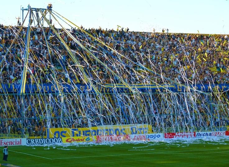 Hinchada de Rosario Central - Estadio Mundialista Gigante de Arroyito - Rosario - Argentina