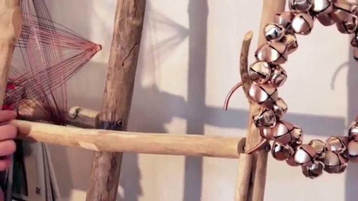 Holzleitern als Deko-Highlight