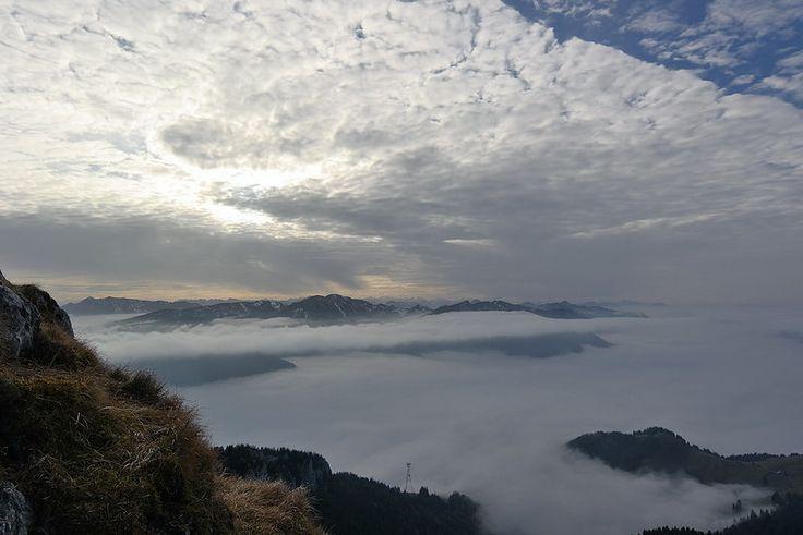 Morgenstimmung beim #Wandern in #Bayern am Wendelstein in den bayerischen #Alpen - ein empfehlenswertes #Ausflugziel für einen #Urlaub bei #München