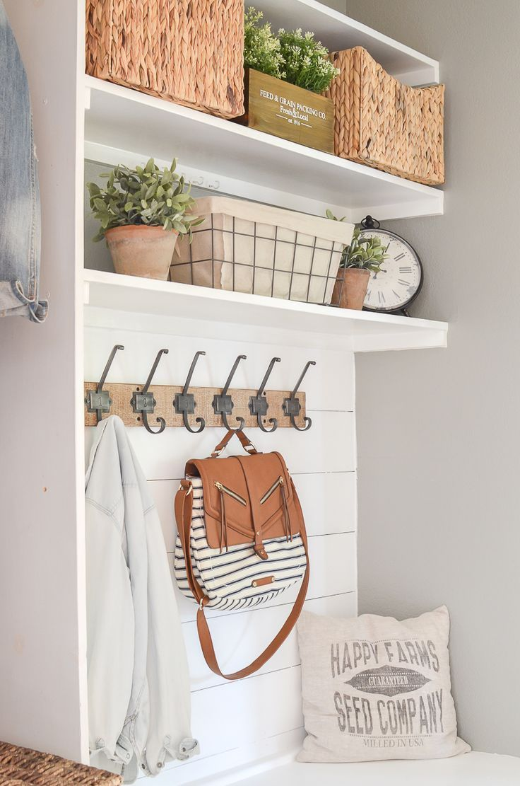 847 best laundry roommud room entryway ideas images on pinterest budget friendly mudroom makeover amipublicfo Gallery