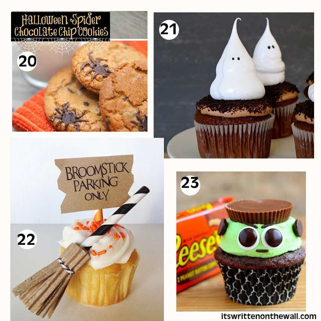 its written on the wall 23 fabulous halloween treats for parties lunchbox treats and - Halloween Desserts For Parties