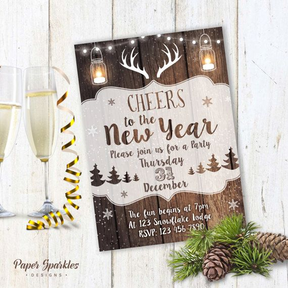 1000 ideas about new years eve invitations on pinterest