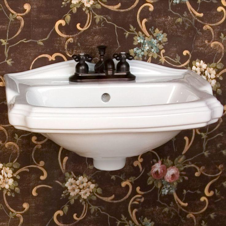 Halden Porcelain Wall Mount Bathroom Sink