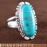 Turquoise Inlay Jewelry Genuine Sterling Silver RingTurquoise Inlay, Inlay Jewelry, 612 Hs55090, Inlay Rings, Beautiful Rings, Genuine Sterling, Sterling Silver Rings, Indian Rings, American Rings