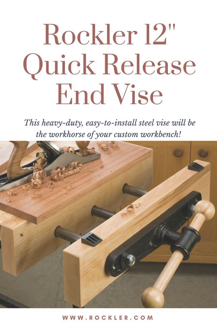 Amish furniture of bristol - Rockler 12 Quick Release End Vise