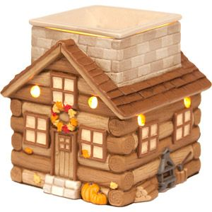 Better Homes and Gardens Country Cottage Wax Warmer, Brown: Decor : Walmart.com