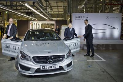 Mercedes-Benz CLA added to Kecskemét plant production portfolio - Automotive Supply Chain
