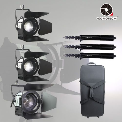 Pro  Fresnel LED Spot Light 50W2100W Air Stands For Studio Camera Video