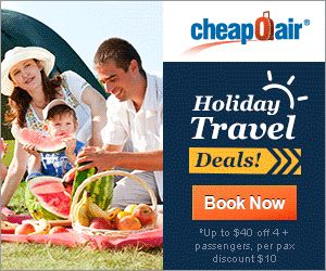 Cheap Airline Deals NOW! Book Today and Save Big! Promo Code: CHEAPOAIR15! http://www.freetravelinfodirectory.net/