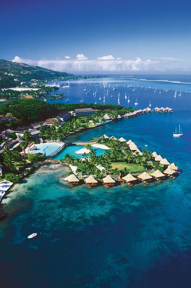 Tahiti luxury resort, Tahiti resort, Tahiti InterContinental Resort