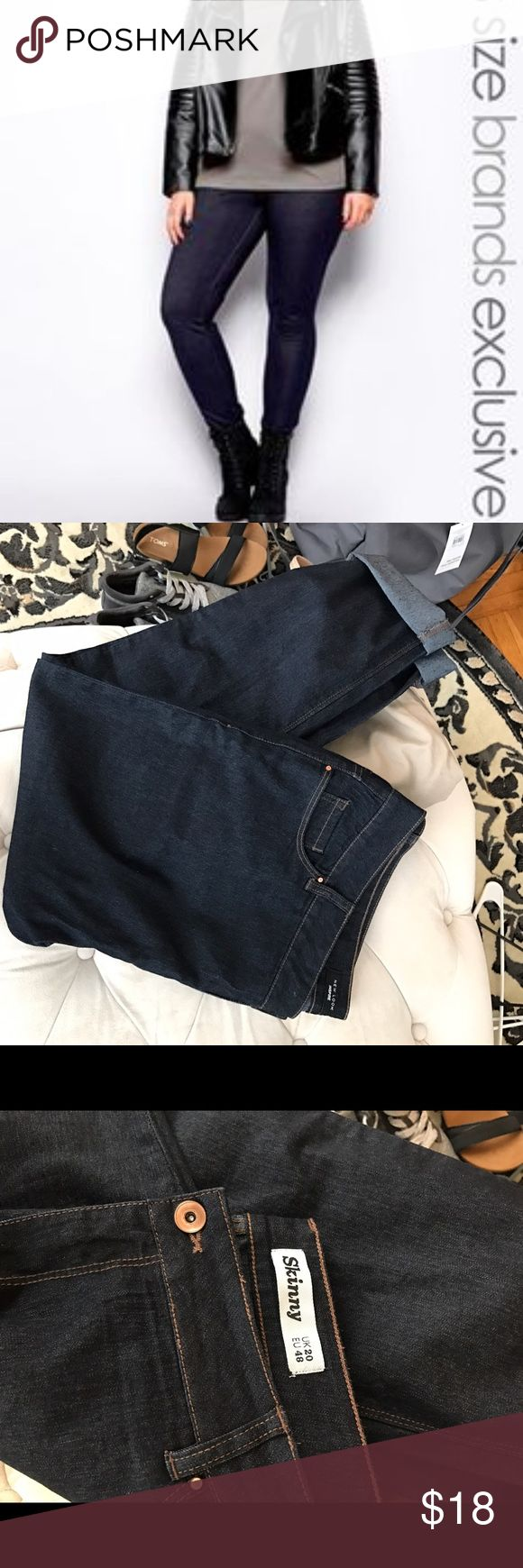 New Look Inspire Skinny Jeans New Look Inspire Skinny Jeans. These are incredibly nice looking jeans, I just bought the wrong size! US16, UK20 NWOT New Look Jeans Skinny