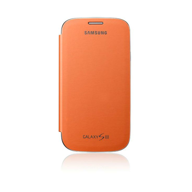 Samsung Galaxy SIII Flip Cover ​-​ Orange $39.99 from Noel Leeming
