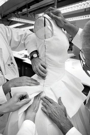 Moulage chez Dior - Atelier Claraines : stage de couture modelisme et MOULAGE++