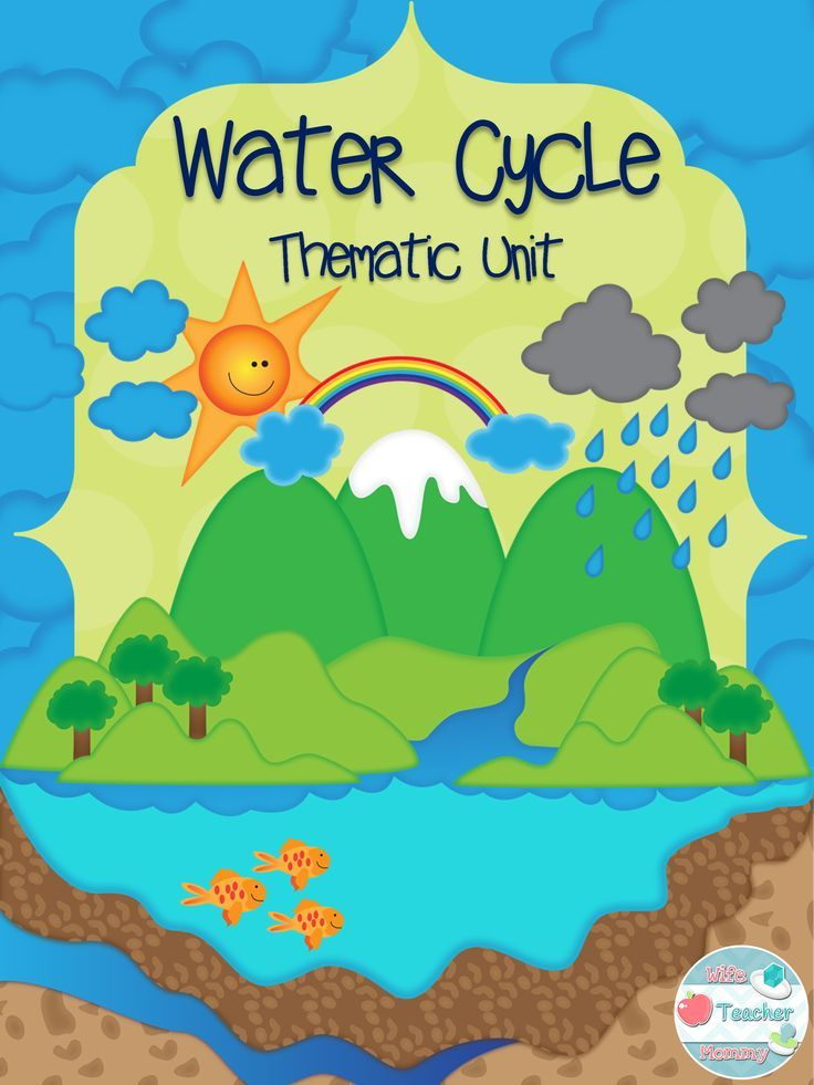 In this unit, students will learn about the water cycle through a variety of fun, engaging activities. These water cycle activities integrate science, language arts, writing, social studies, math, art and drama into the water cycle! Color and B&W student worksheets are included!
