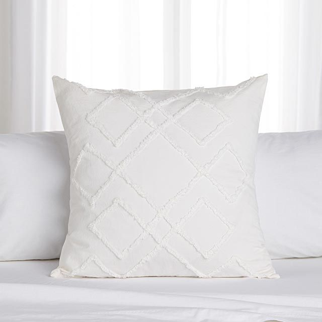 Chenille Embroidery Duvet Cover Set Euro Pillow Shams European Pillows Euro Pillow