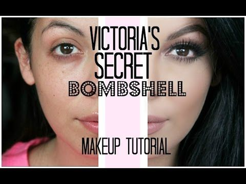 Victoria's Secret Bombshell Makeup Tutorial | SCCASTANEDA – YouTube