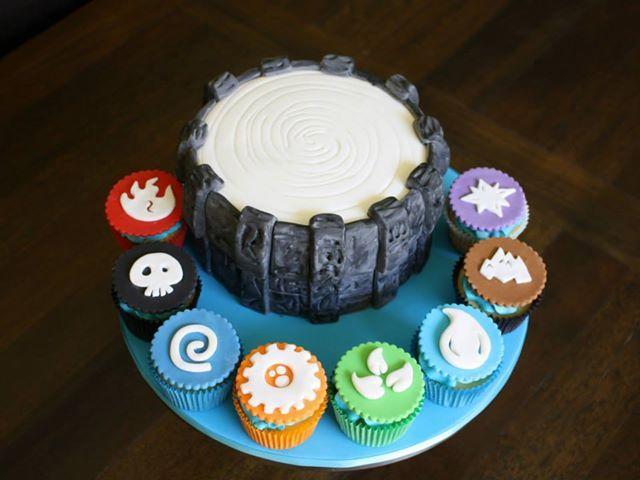 7 Best Skylander Birthday Images On Pinterest Portal Cake