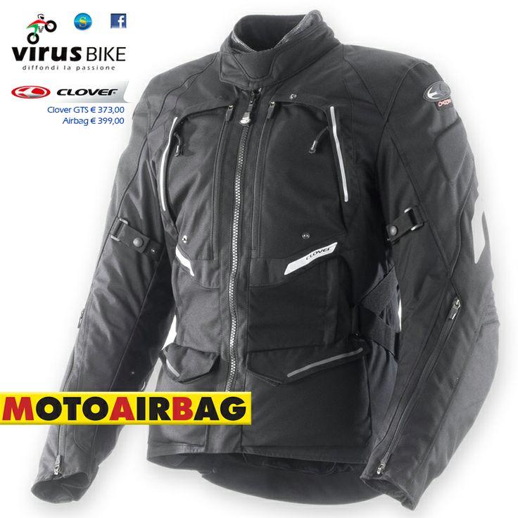Giacca Clover GTS Airbag, disponibile presso Virus Bike Salerno. virusbike@libero.it