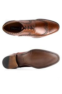 Mens Shoes - Aquila Sorensen Tan - Brogue