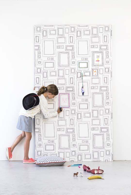 KARWEI | Plakken, kleuren, schrijven: dit keer mag het gewoon op de muur. #kinderkamer #wooninspiratie #karwei
