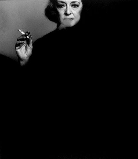 Bette Davis, 1971 -by Victor Skrebneski.