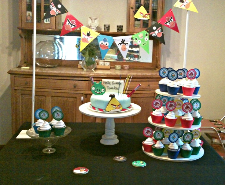 Cumpleaños Angry Birds
