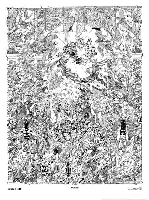 28 best Doodle Art images on Pinterest Doodle art Art posters