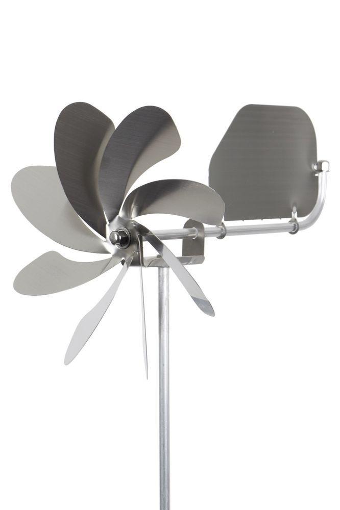 Best A steelyou Windrad Speedy plus mit Windfahne aus Edelstahl Garten in Garten