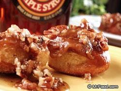homemade sticky buns easy: Maple Buns, Non Paleo Breakfast, Breakfast Bistro, Bread Recipes, Yummy, Pleasure Foods, Breakfast Baking, Maple Breakfast