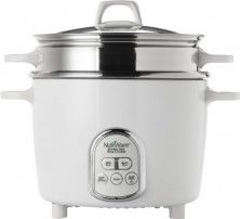 Aroma NRC-687SD-1SG NutriWare 14-Cup (Cooked) Digital Rice Cooker and Food Steamer