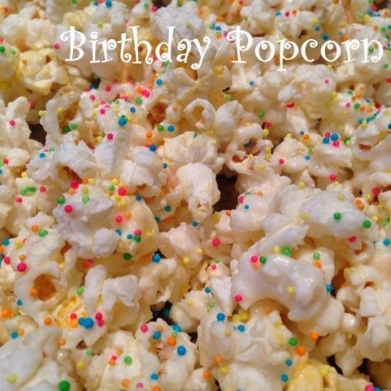 Birthday Party Popcorn